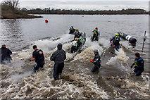 SP2195 : Kingsbury Water Park Jet Ski Centre by Brian Deegan