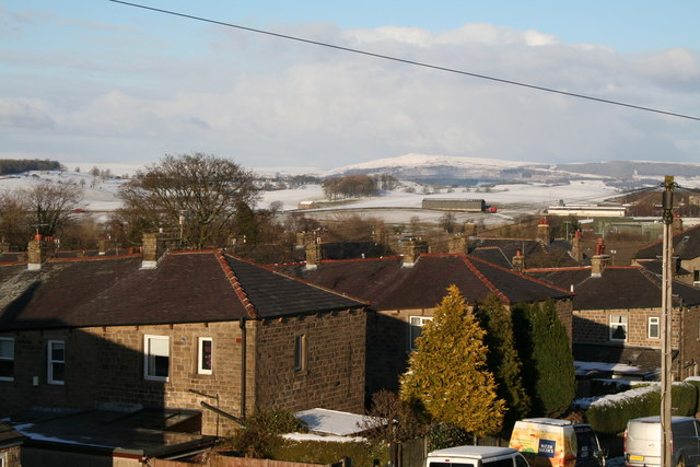 Barnoldswick:  View from Fernbank Avenue