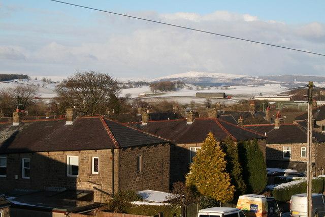 Barnoldswick:  View from Fernbank Avenue