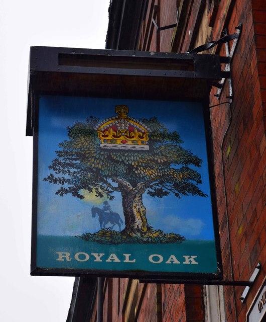 Royal Oak (2) - sign, 178 Union Street, Oldham