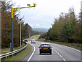 NH8710 : Speed Cameras on the A9 near Lynwilg by David Dixon