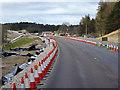 NH8509 : A9 Roadworks near Alvie by David Dixon