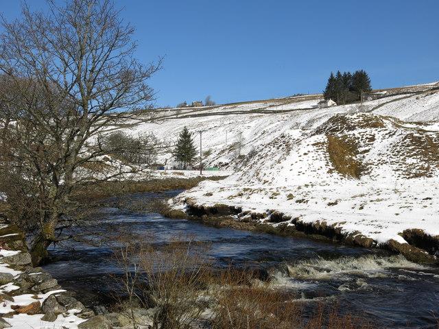 Killhope Burn downstream from Allers Bridge (2)
