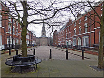 SO9198 : George Street in Wolverhampton by Roger  Kidd