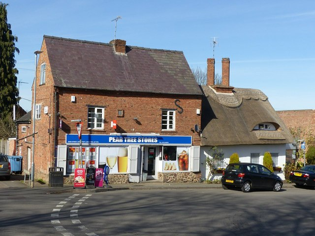 Pear Tree Stores and Rose Cottage, Scraptoft