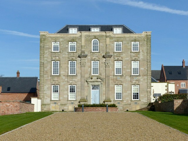 Scraptoft Hall, main front