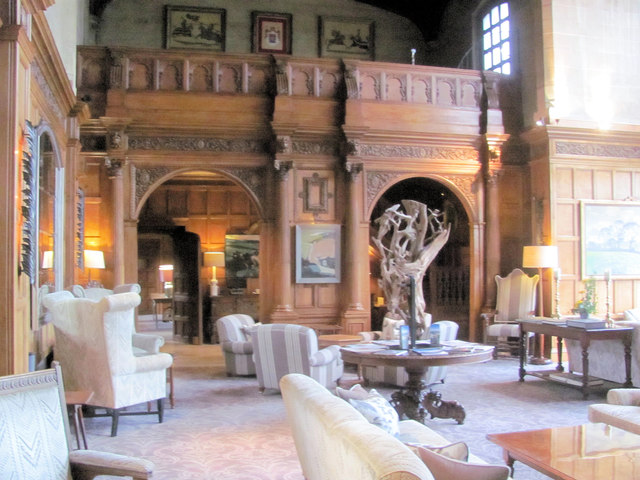 The Great Hall at Bovey Castle