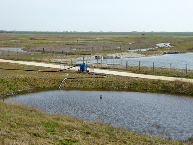 Borrow dyke pump, Wallasea Island