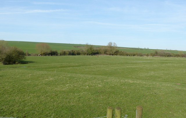 Ridge and furrow at Hamilton deserted village