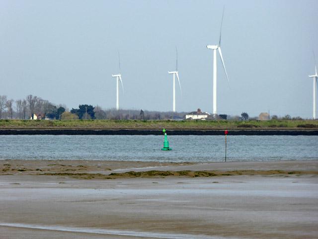Fairway no. 1 buoy, River Crouch