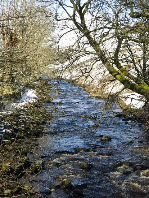 Killhope Burn upstream of Allers Bridge