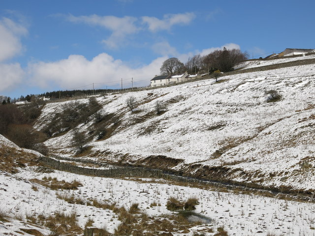 The valley of Killhope Burn above Low Allers