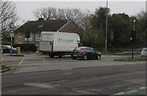 ST3091 : Evergreen van, Malpas Road, Newport by Jaggery