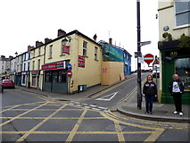 H4472 : Renovation work along Church Hill, Omagh by Kenneth  Allen