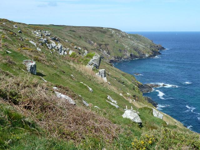 Trevalgan Cliff