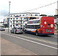 SY0080 : Open-top double-decker bus on the Esplanade, Exmouth by Jaggery