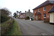 TM3569 : A1120 Chapel Street, Sibton by Adrian Cable