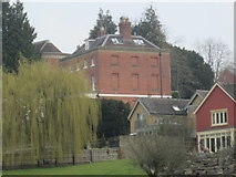 SO5074 : Dinham Lodge (Viewed from Whitcliffe Common | Ludlow) by Fabian Musto