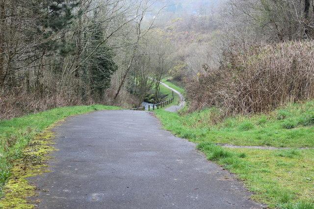 Path to Nant Cwm-parc, Abertridwr