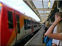 TQ0471 : Staines station by Eirian Evans