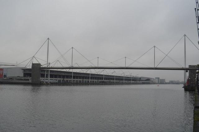 Footbridge Royal Victoria Dock C N Chadwick Geograph