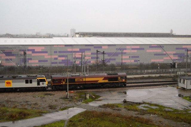 EWS Train, Dagenham