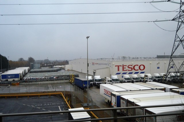 Tesco Distribution Warehouse, Dagenham