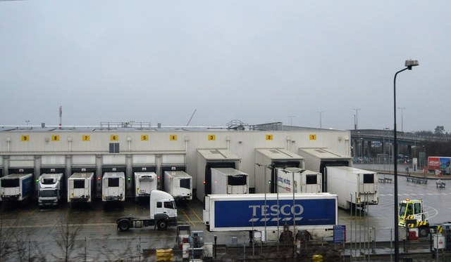 Tesco Distribution Warehouse, Dagenham