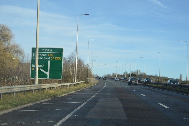 A13 at Pitsea
