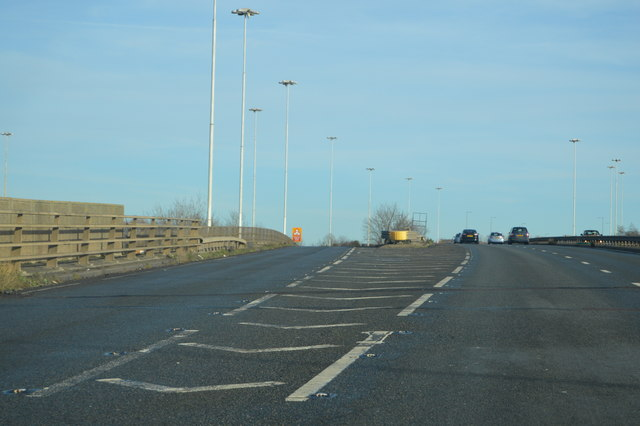 Pitsea turn off, A13