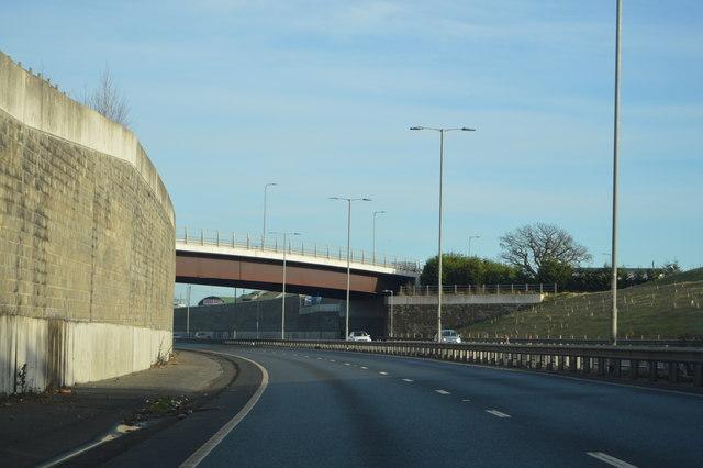 London Road Bridge, A130