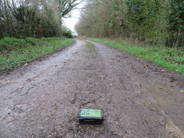 A Geocache gone on a walkabout by Sandy B