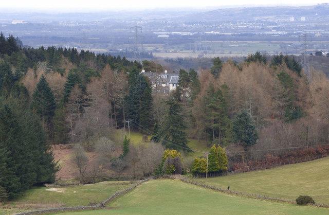 Fields and Woodland near Haddockston