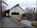 SX8274 : Locomotive shed - Bickington Steam Railway by Chris Allen