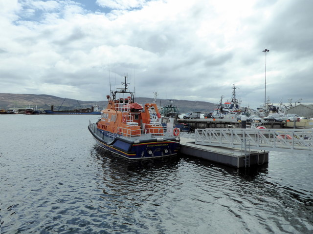 RNLI lifeboat at Castletownbere