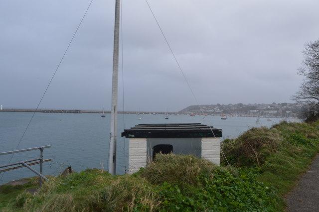 Hut, Battery Grounds