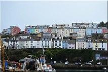 SX9256 : Colourful houses, Brixham by N Chadwick