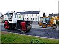 H4672 : Road works, Hospital Road, Omagh - 65 by Kenneth  Allen