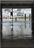 SX2553 : Looking across to West Looe from the fish market by Rod Allday