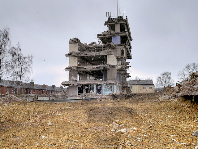 Demolition of Former Police Headquarters