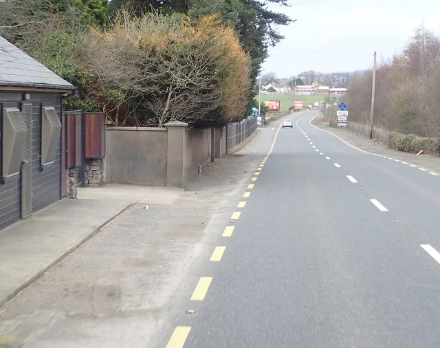 Former ROI Customs Post on the R132 at Carrickcarnan