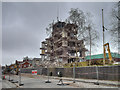 SD8010 : Demolition of Former Police Headquarters, Irwell Street by David Dixon