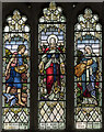 SE7804 : Stained glass window, St Andrew's church, Epworth by Julian P Guffogg