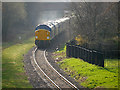 SD8010 : East Lancashire Railway Diesel Train Leaving Bury by David Dixon