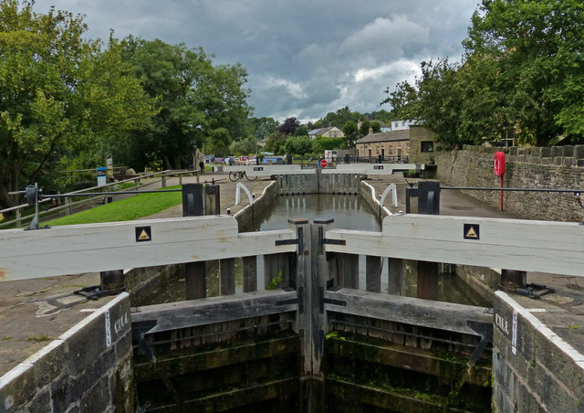 Lock No 29 on the Leeds and Liverpool Canal