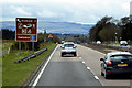 NN8004 : A9 Southbound near Dunblane by David Dixon