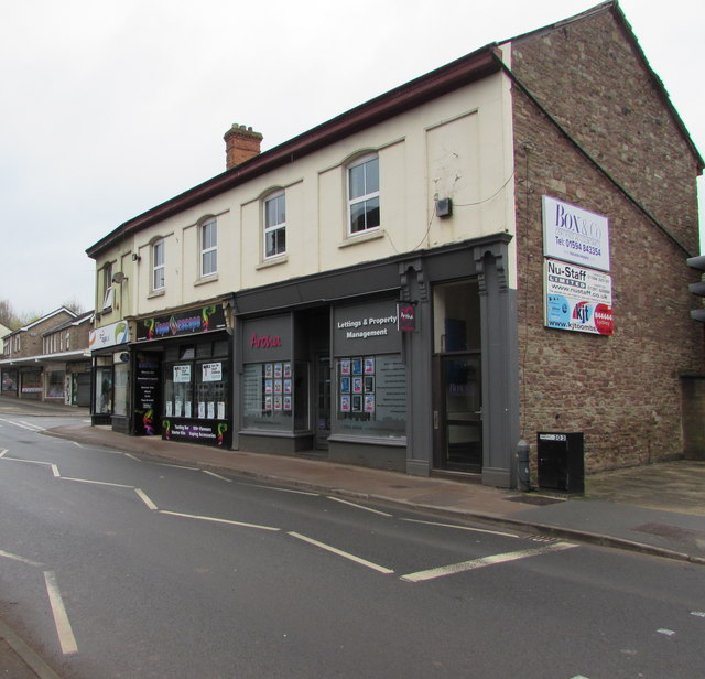 Aroha lettings & property management office in Lydney