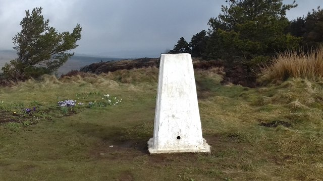 Lewis Hill trig point