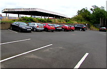 SO8555 : Worcester Shrub Hill pay & display car park by Jaggery