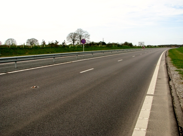 The NDR between Reepham Road and Fir Covert Road roundabouts